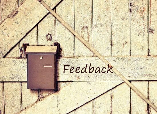 Rakentava palaute on bloggaajalle tärkeää
