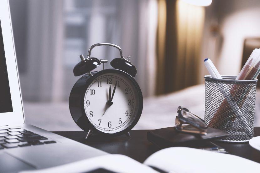 Bloggaajan ajankäyttö