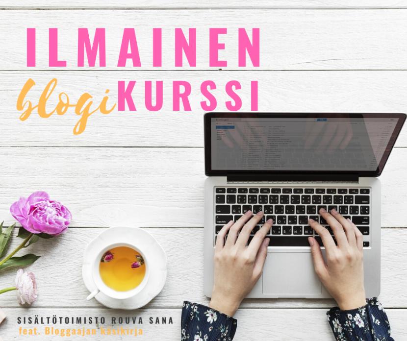blogikirjoituskurssi
