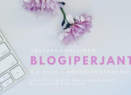 #blogiperjantai20