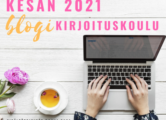 Kesän 2021 blogikirjoituskoulu